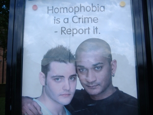 homophobia is a crime picture