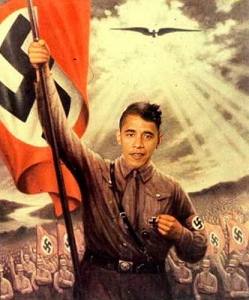 Adolf Hitler Obama